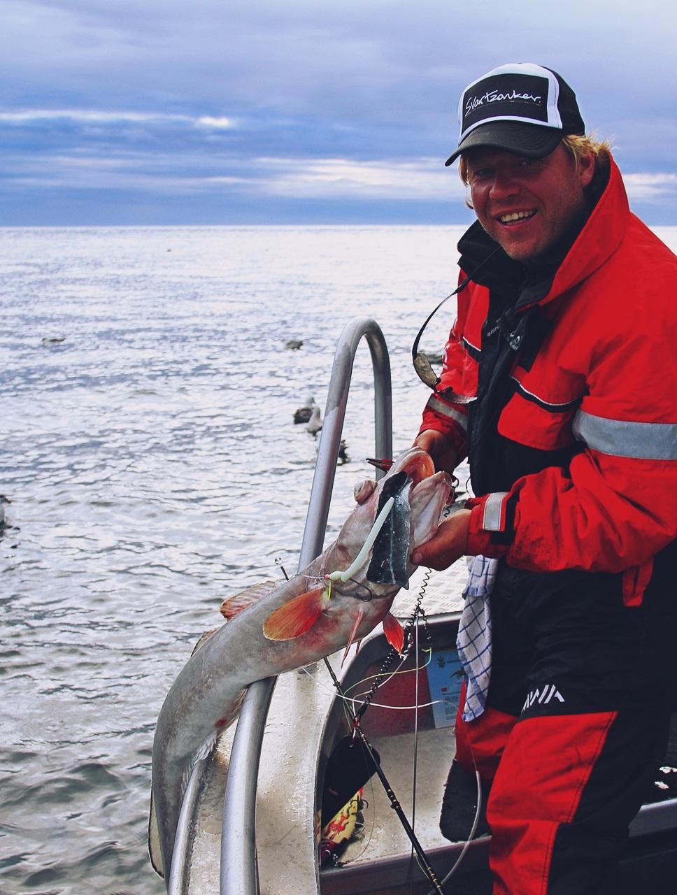 så var vi i gang med fiske på bunnen