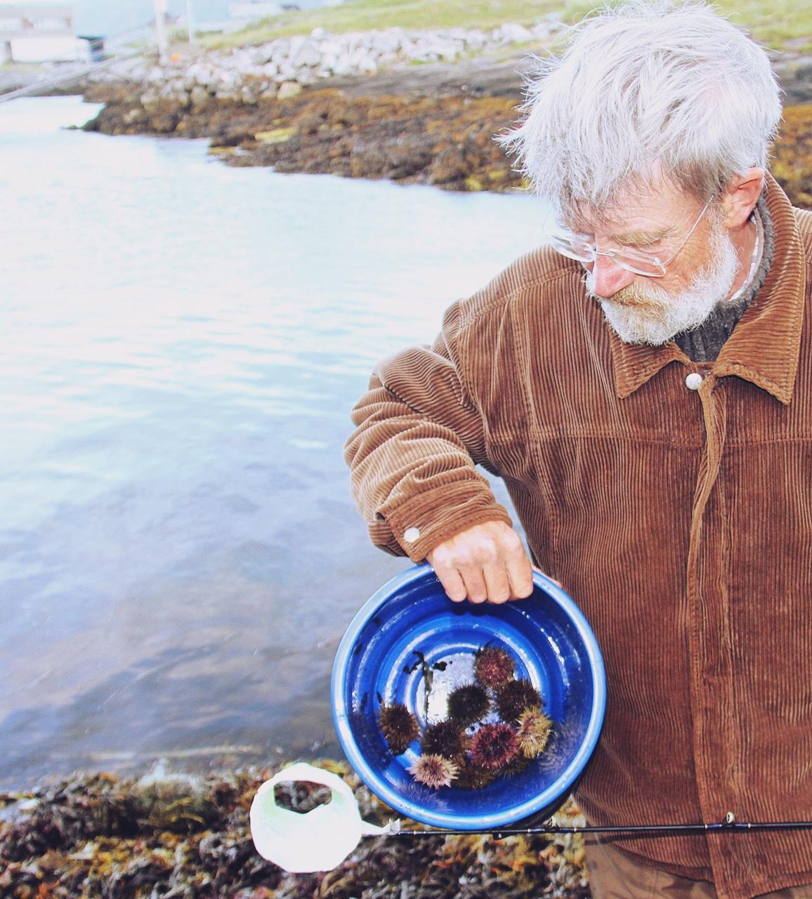 litt variert kost, Peter plukker kråkeboller til forrett