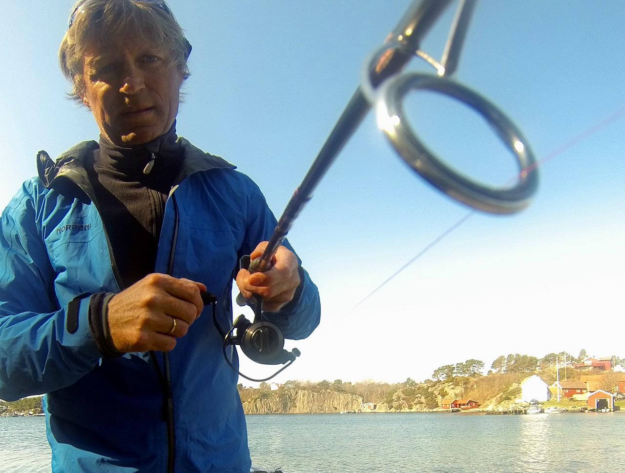 Spinnstopp brukes mest ved kastesluk fiske fra land eller båt