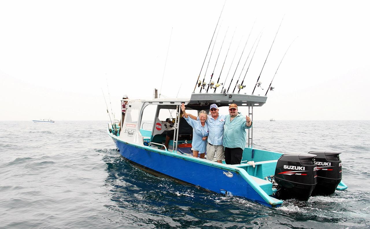 klar for fiske, gode båter og godt mannskap