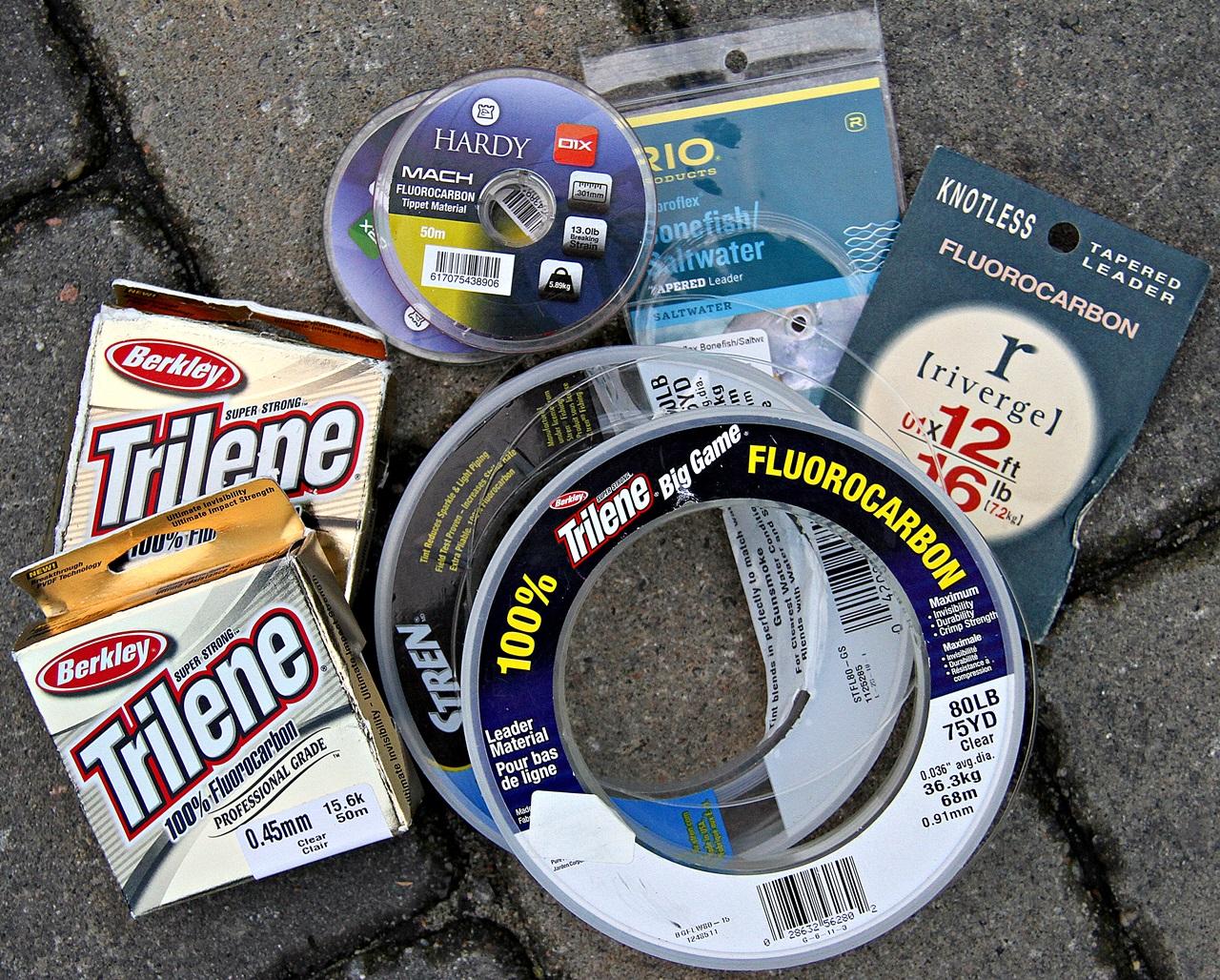Forskjellige typer forpakninger av fluorocarbon fortomsmateriale