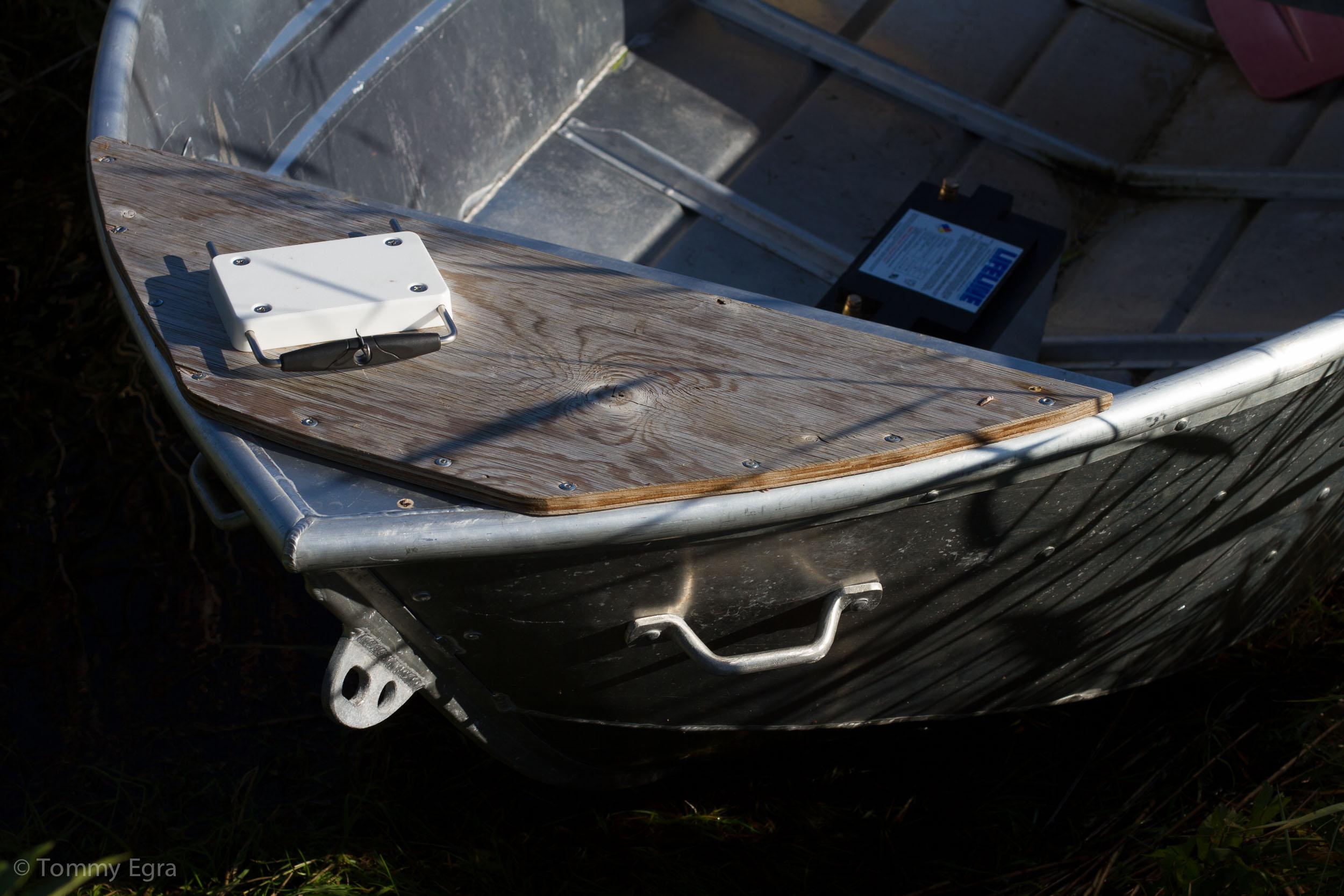 har du flere fester i flere båter er det enkelt å flytte motoren