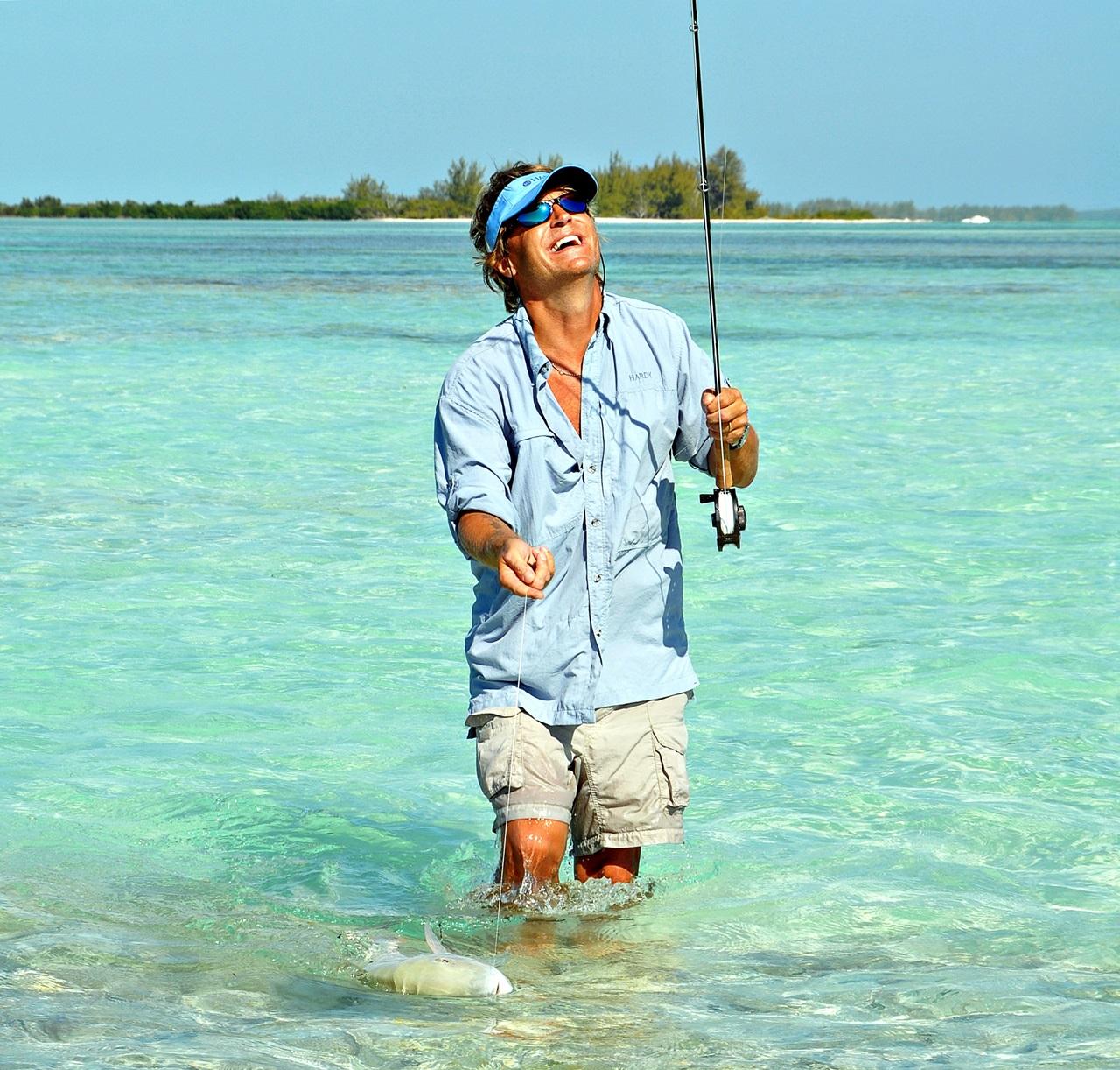 du velger om du vader eller fisker i fra båt, begge ting er fantastisk