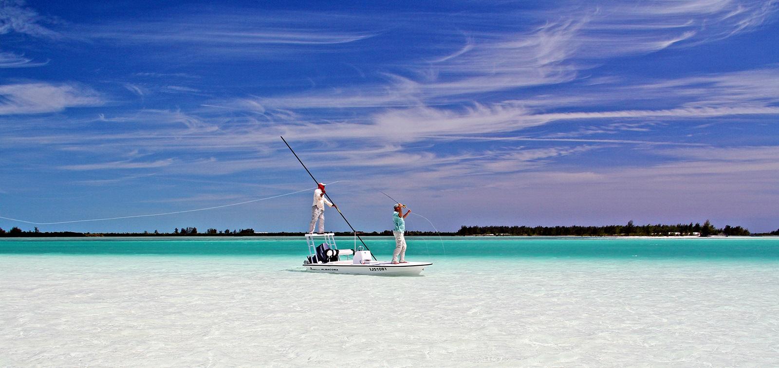 tropisk fiske er rett å slett som å fiske i en drømmeverden