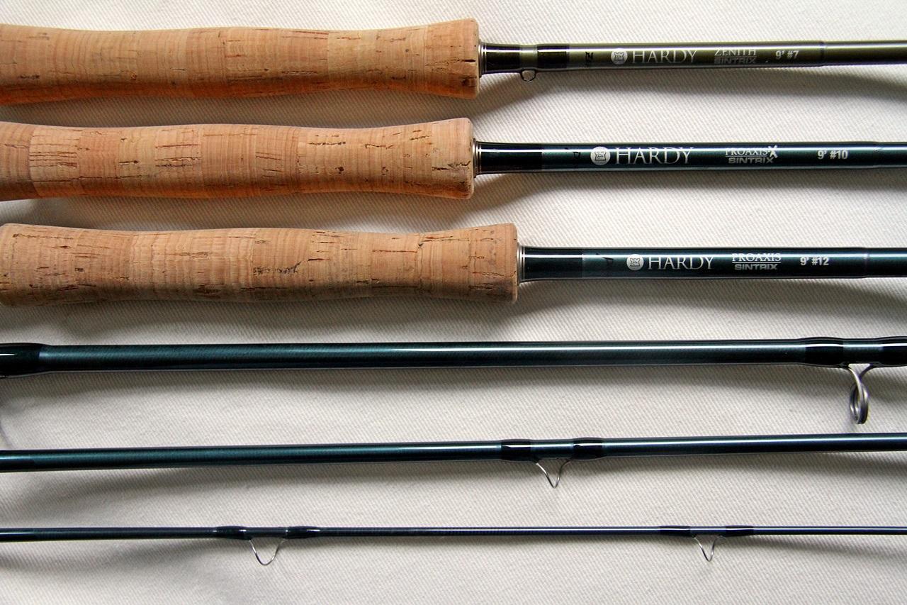 skal du fiske etter alt, trenger du en #7 en #10 og en #12 stang med kvalitet