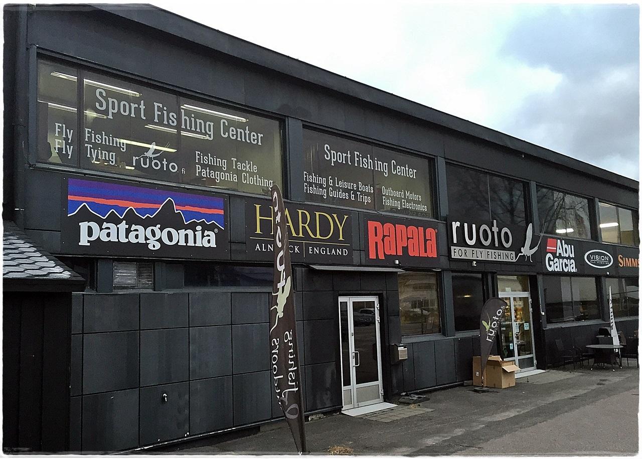 Her en av de flotteste butikkene i hele Finland. Ruto ligger litt utenfor sentrum av Helsinki