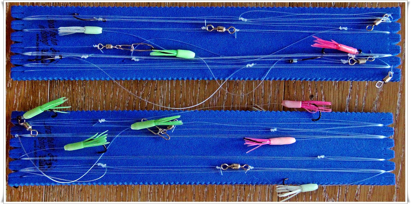 Takler for pelagisk fiske ble raskt bundet