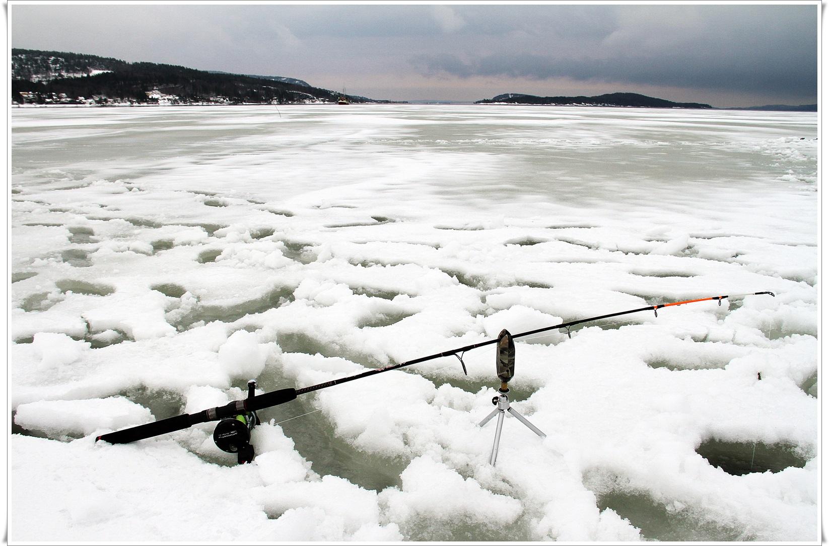 lengre ut lå fjorden åpen og fri for is