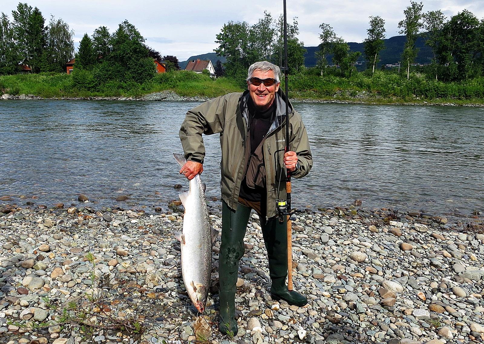 noen elver, og noen elvestrekk har gode tradisjoner for markfiske, her fungerer Gulpen ekstra godt