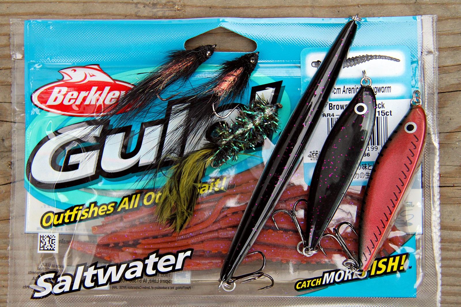 fluer og andre lokkemidler som kan fiskes grunt er best, mørke farger gir best kontrast og er lettest å se for sjøørreten