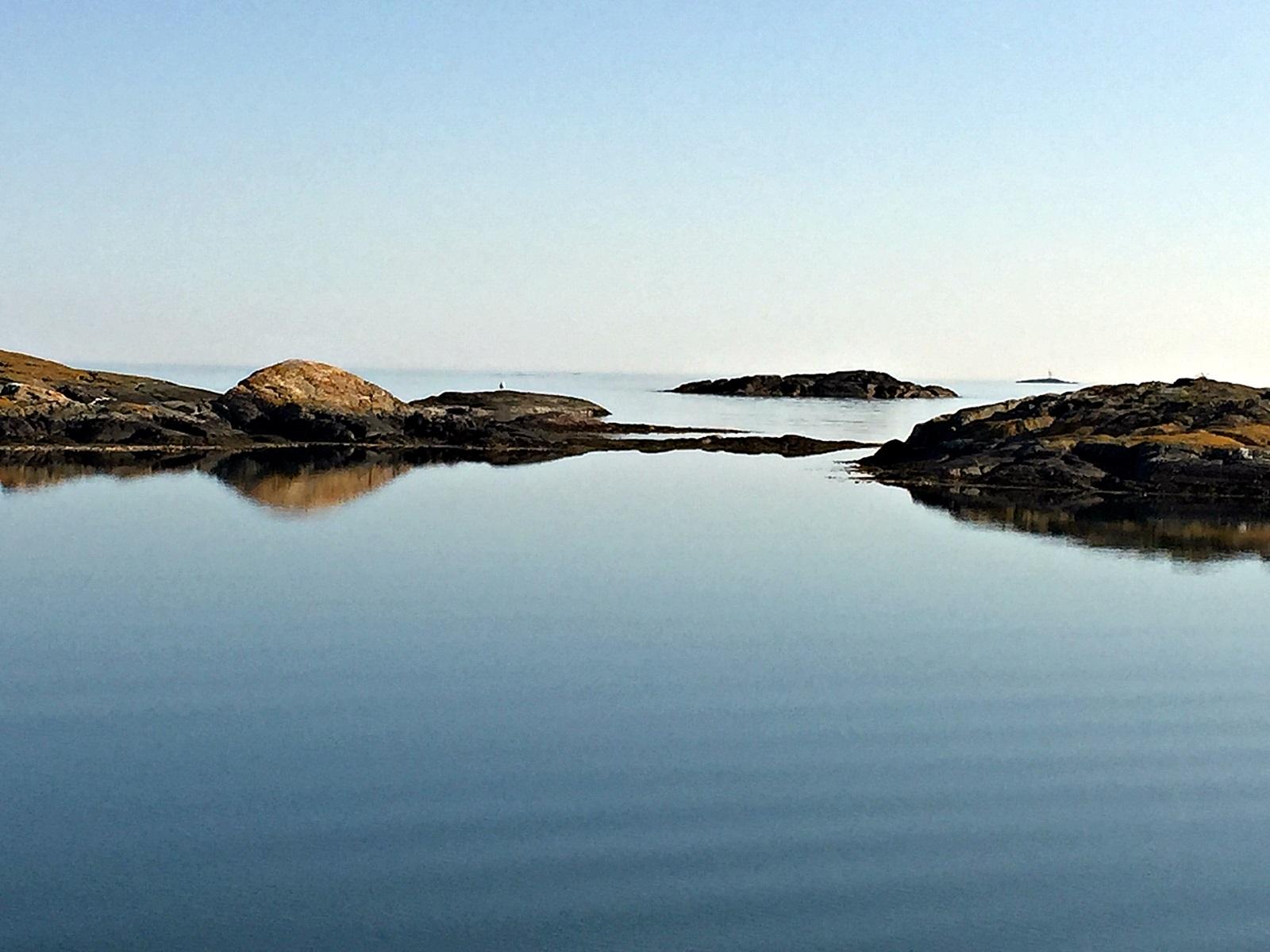 konsentrer deg om plasser hvor du ser storhavet