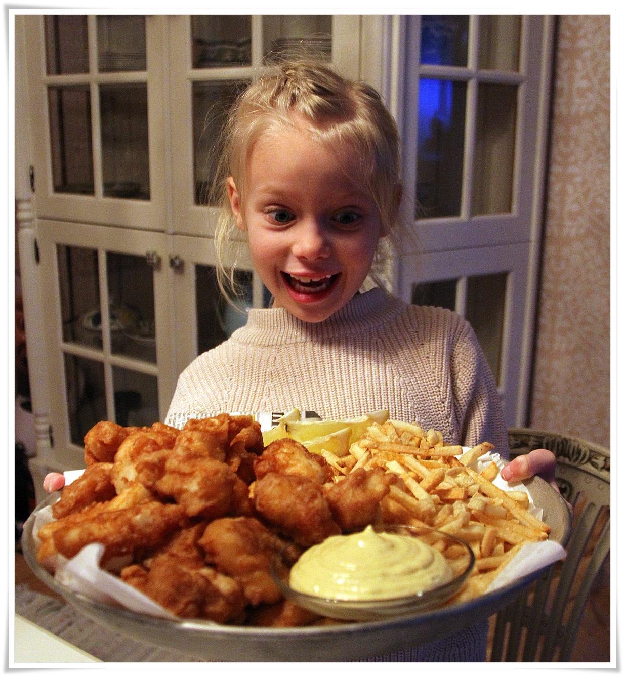 Selv barn som ikke liker fisk vil garantert spise dette