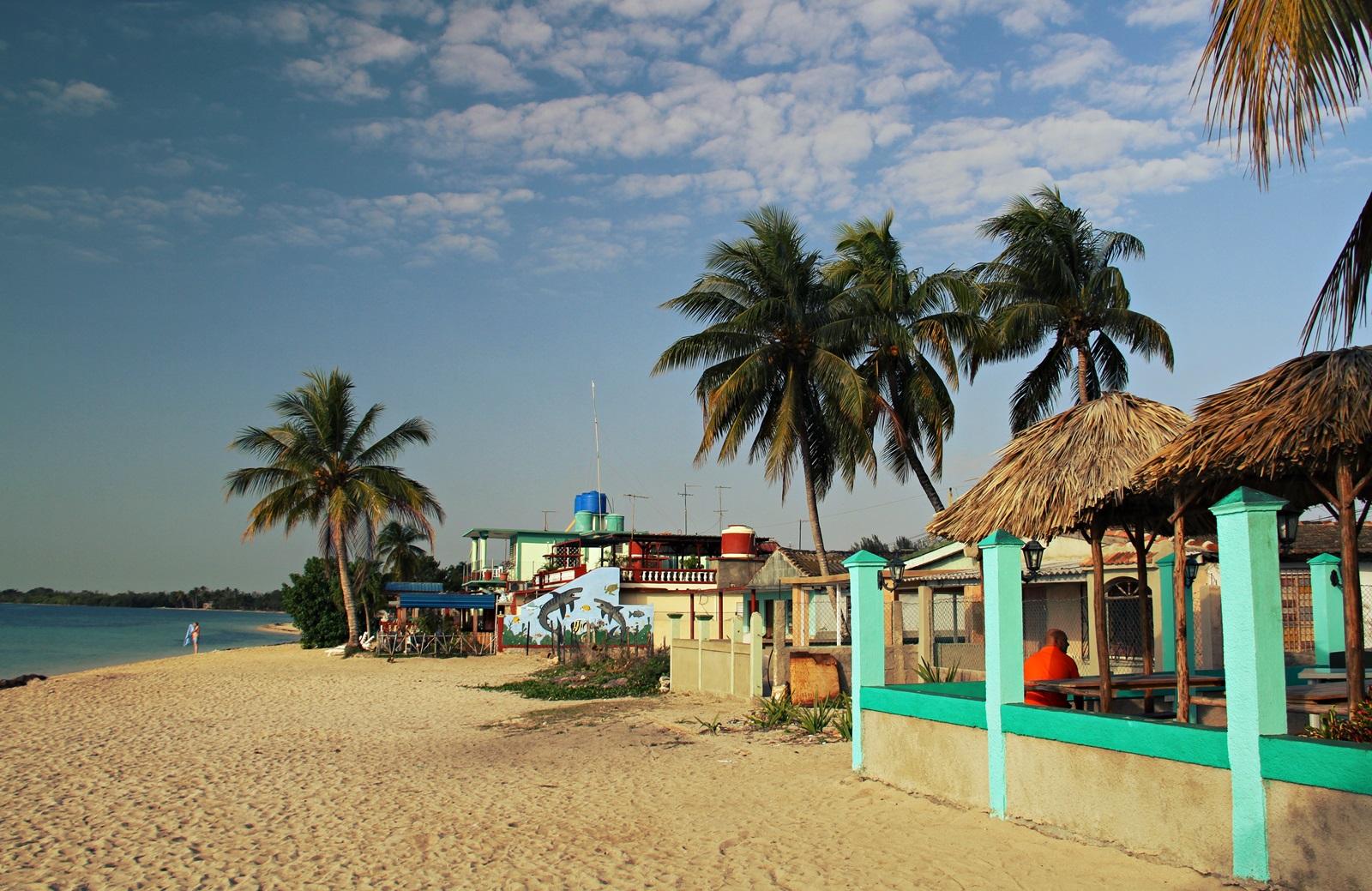 Vår favoritt familieferie er Playa Larga hvor vi bor i et strandhus