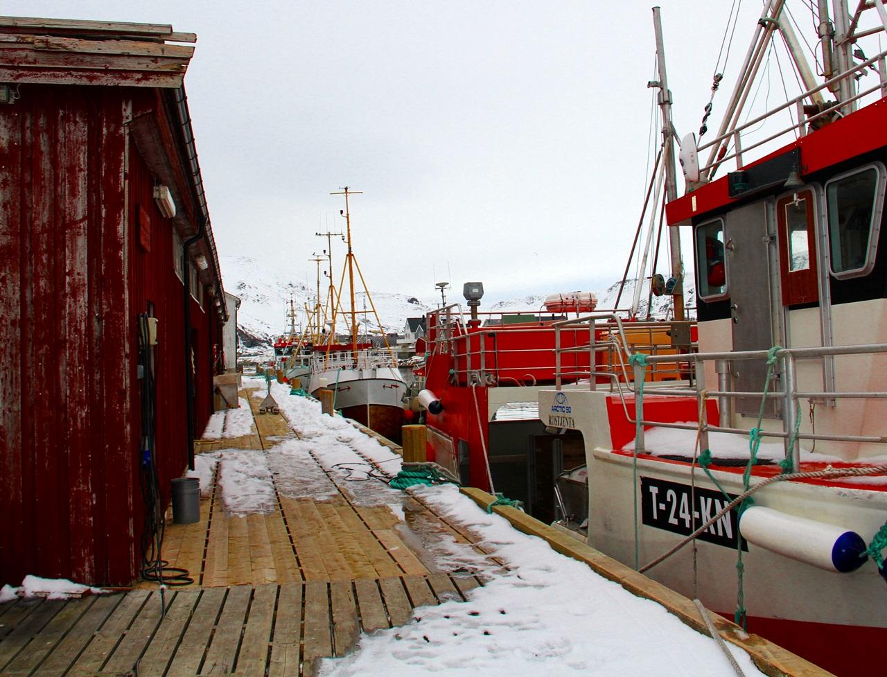 Sørvær  var utgangspunkter for første dags fiske
