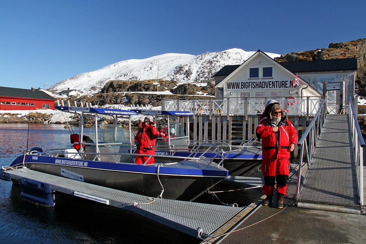Klar for dag 2. ut fra Hasvik på Sørøya