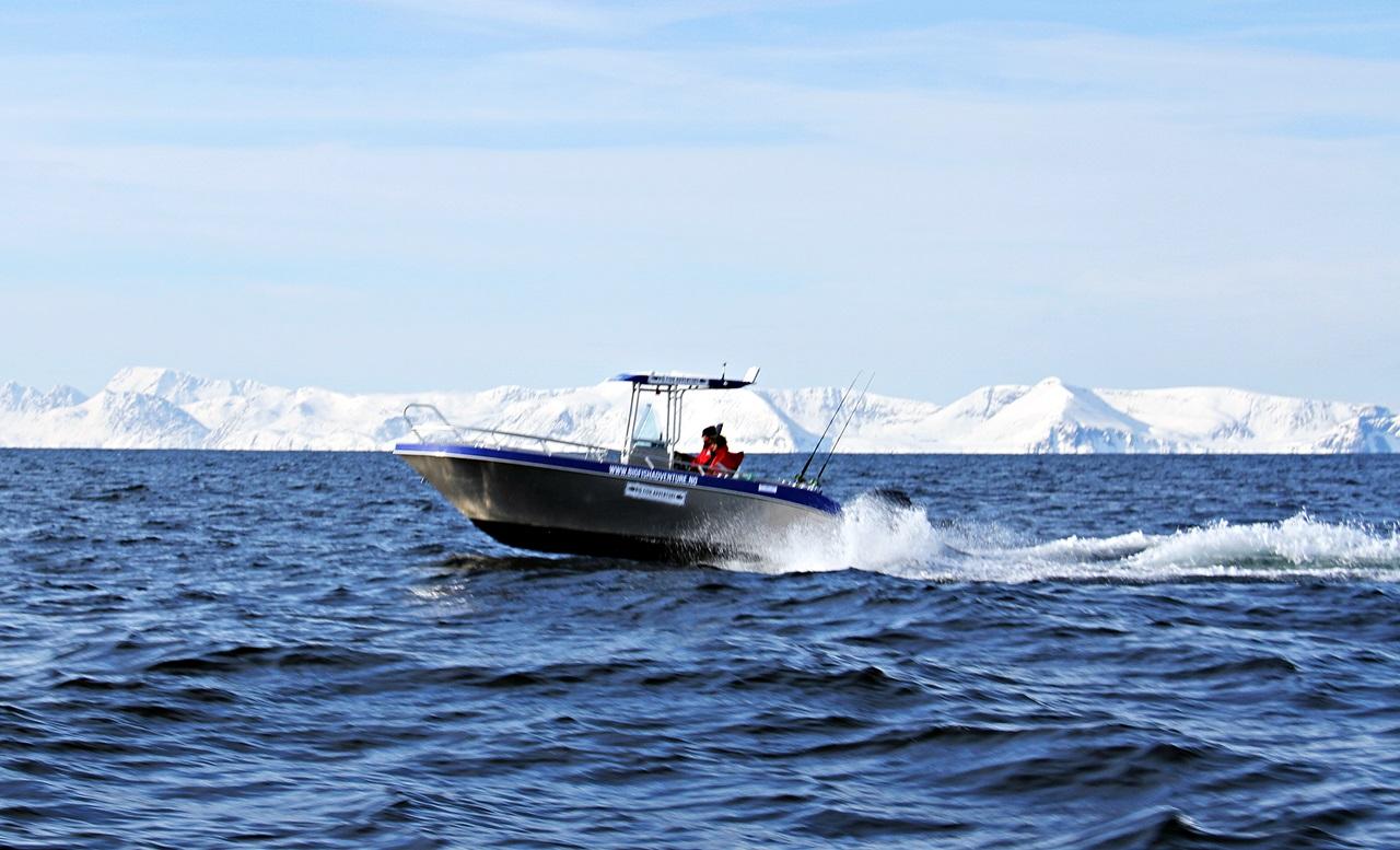 Full fart på kryss og tvers av lopphavet