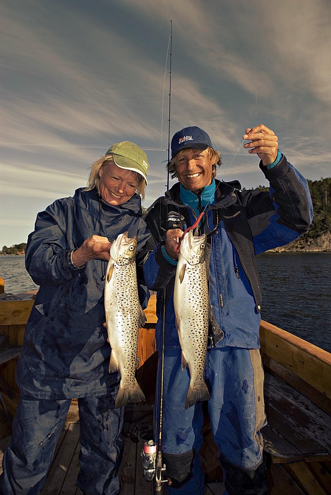 Registrerer du dine fisketurer vil du gi et viktig bidrag til sjøørreten i A-Agder