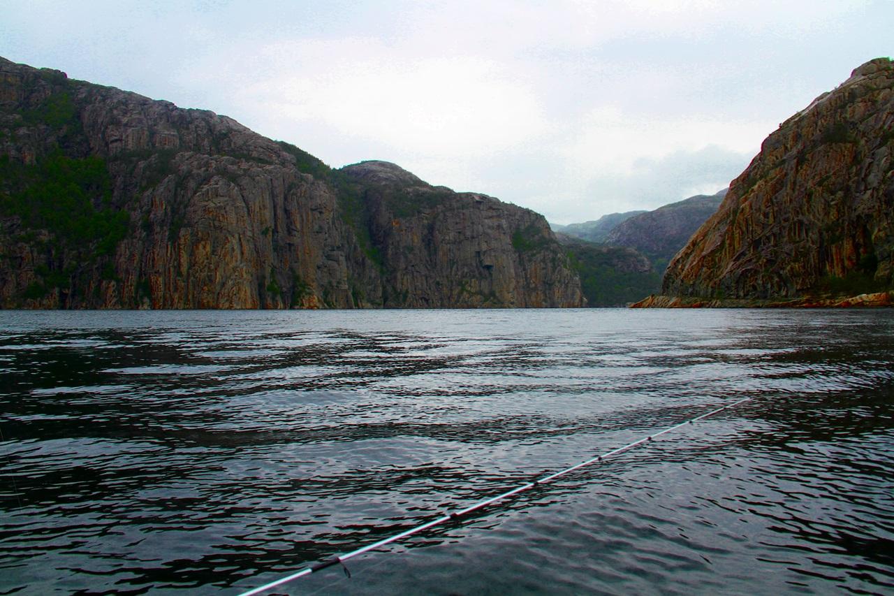 majestetiske Lysefjorden