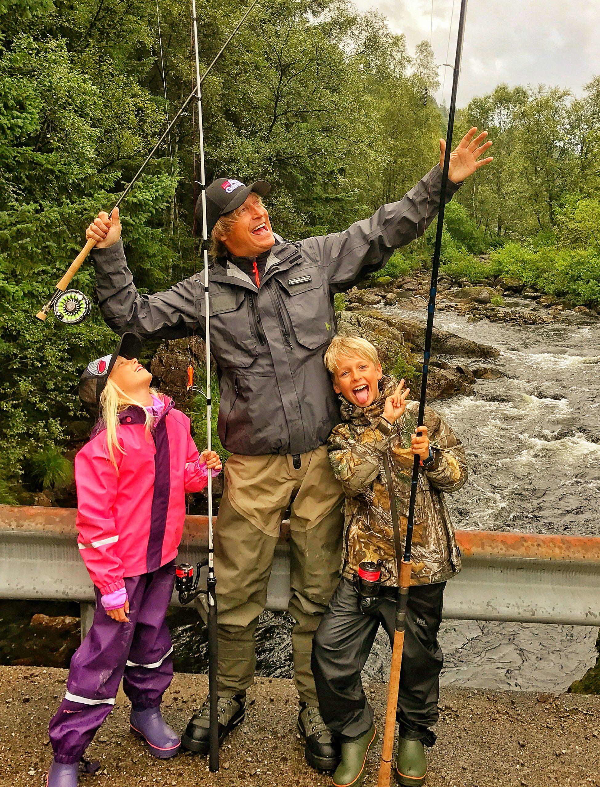 alt klart for fiske