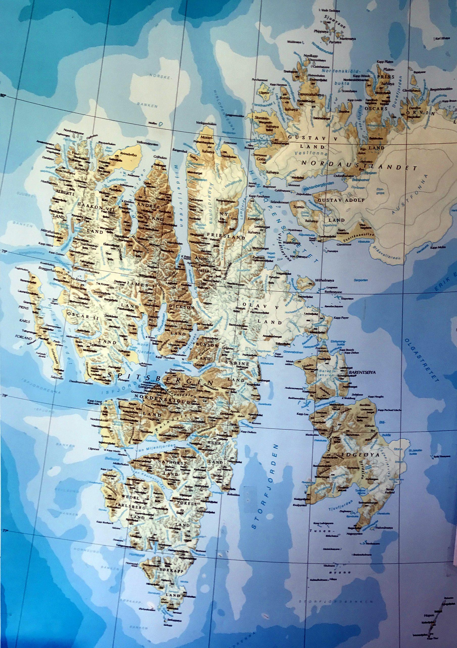 Vi fisket i Isfjorden mellom Longyearbyen og Barentsburg