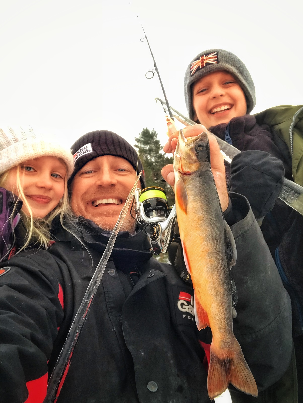 Alle synes det er gøy når vi får fisk, men det er nødvendigvis ikke forskjellen på en god eller dårlig tur