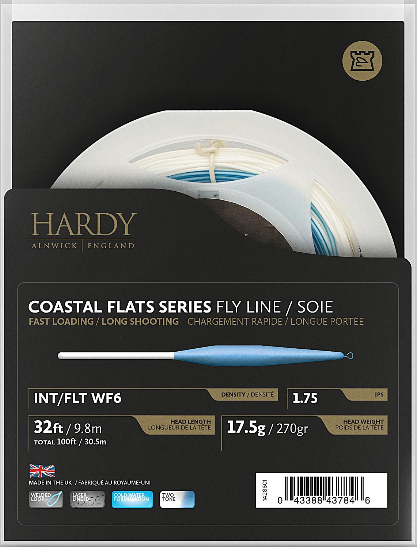 Hardys nye Costal sjøørretliner har fått de beste skussmål, til og med på de kaldeste dagene er det førstevalget