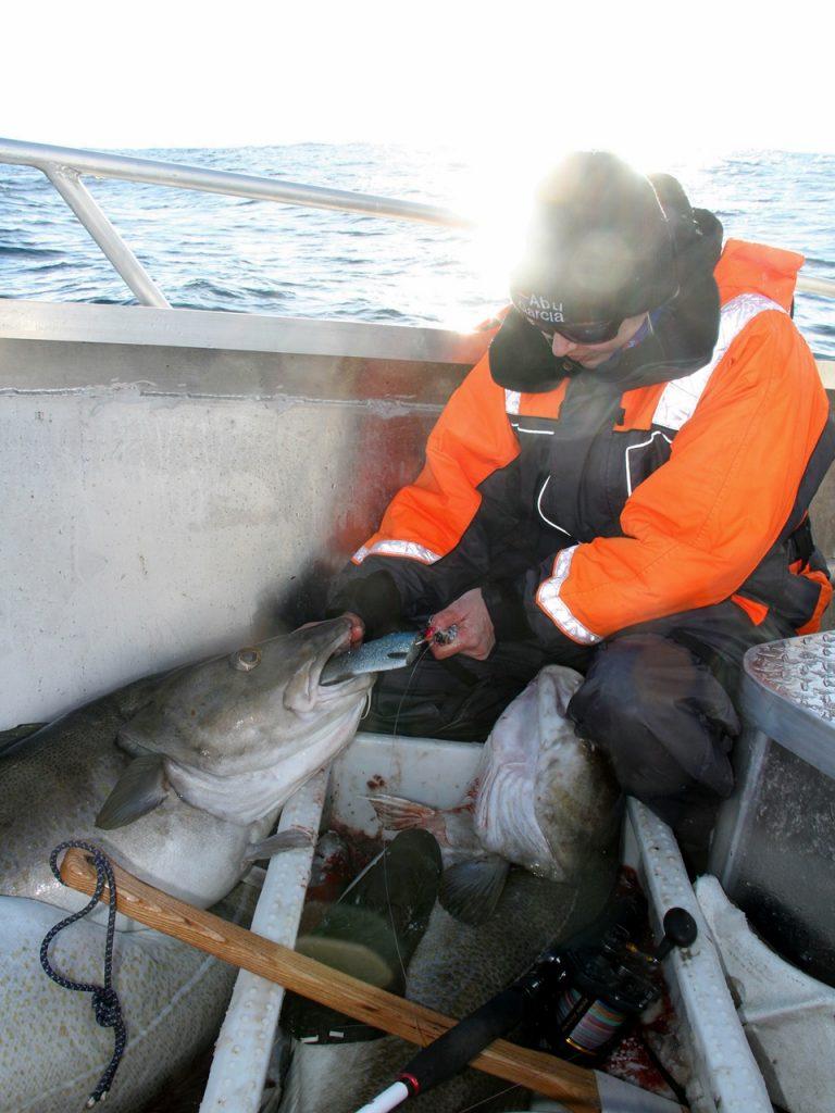Jeanetts drømme-fisk var sikret ombord