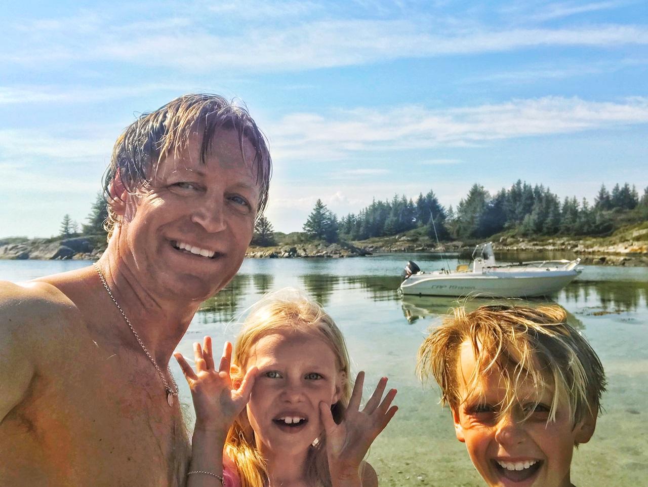årets første sjøbad