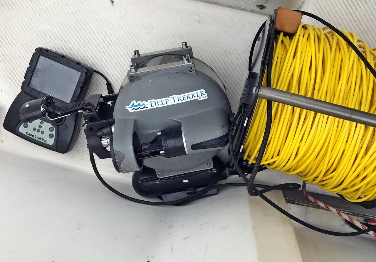 undervanns drone med gripeklo er et viktig redskap for å finne tapt redskap