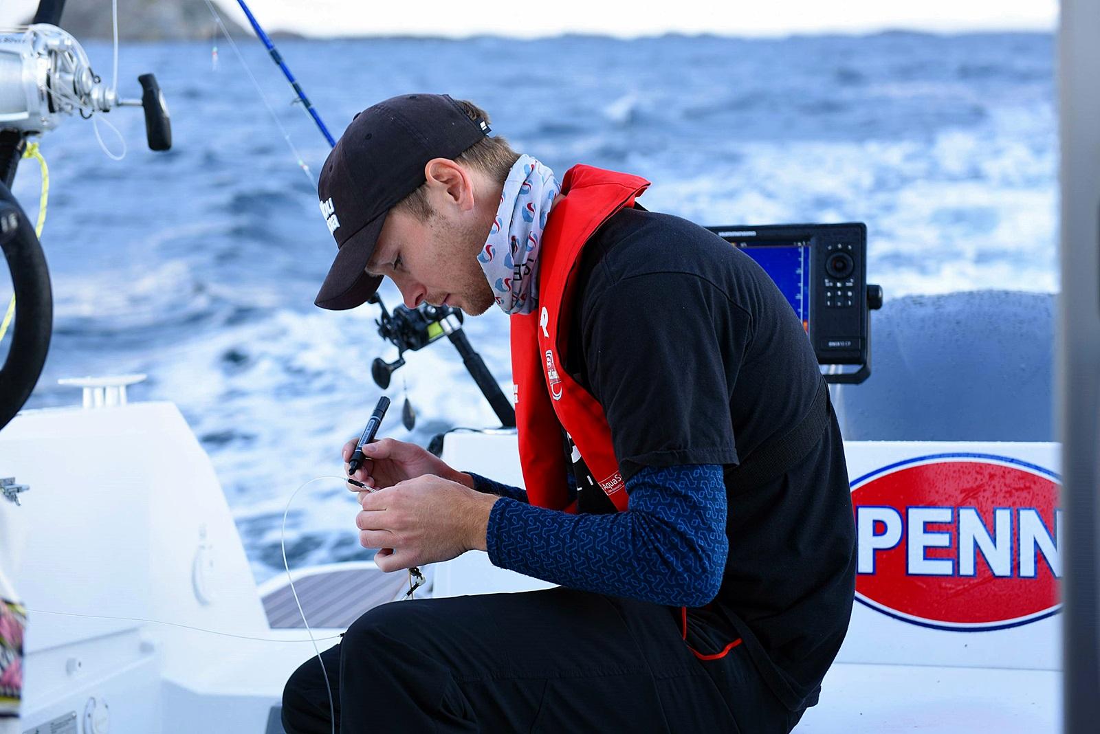 Hver nye fiskedag var det finjustering av utstyret