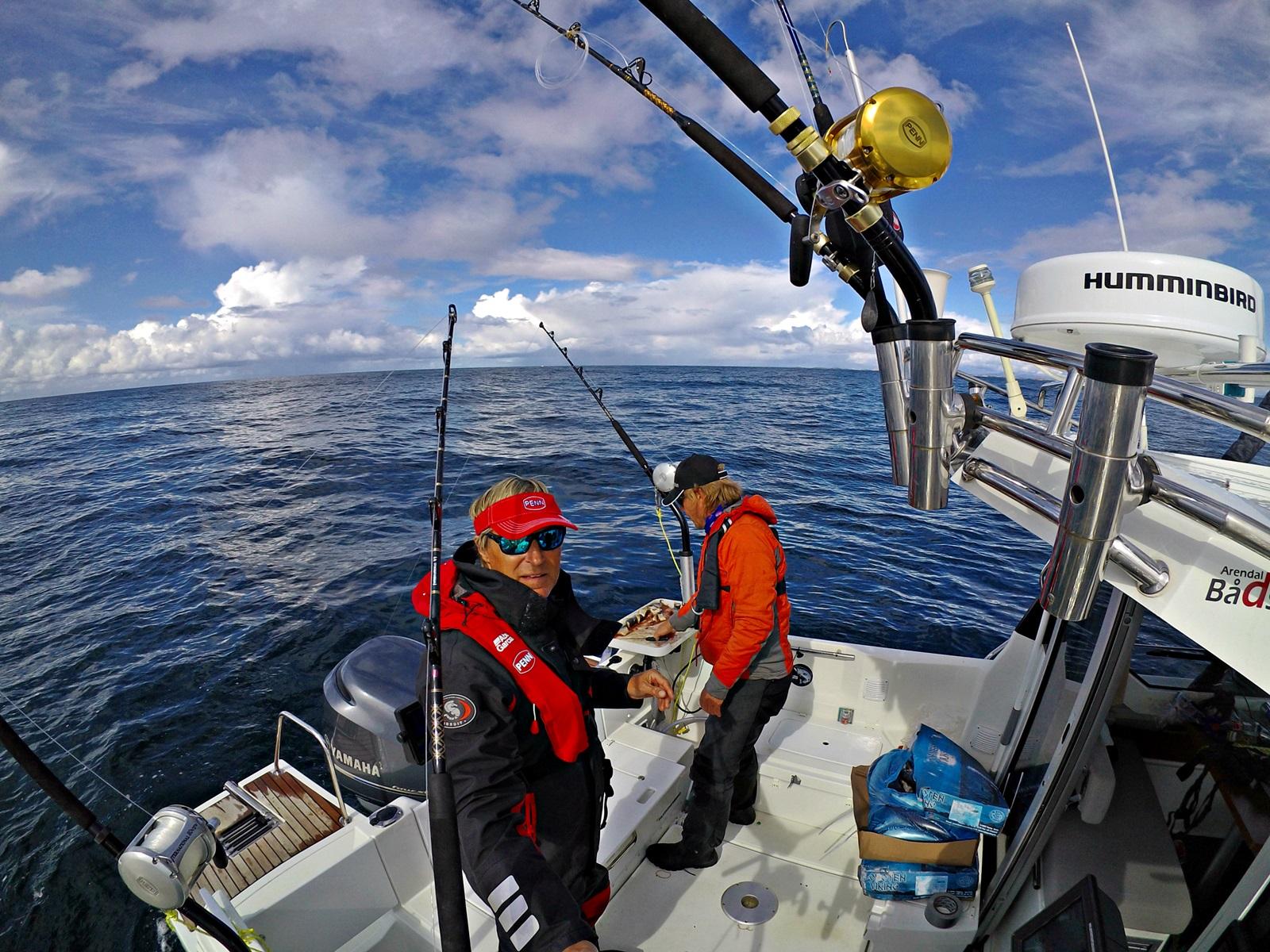 Gode dager på havet selv om fangsten uteble