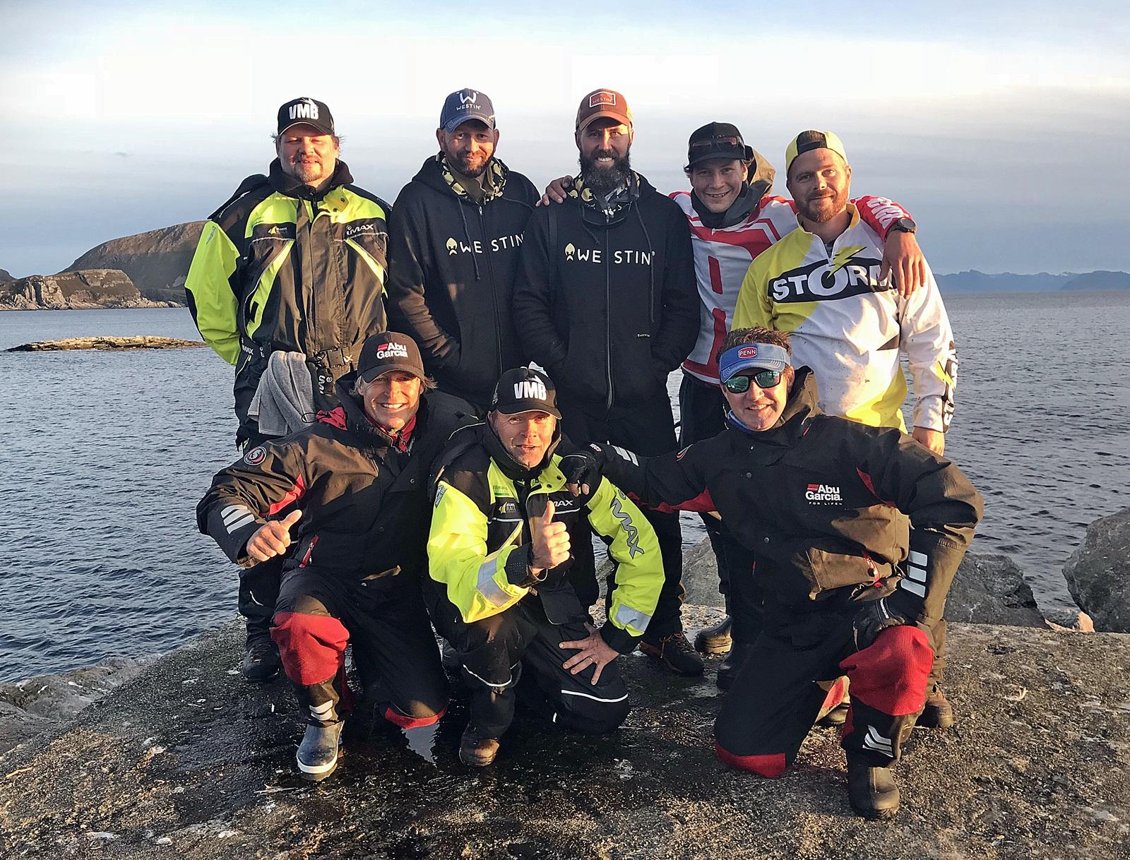Deltagerne i Havfiskebattlen