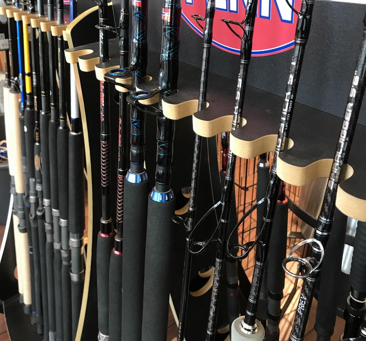 Utvalget er enormt, det gjelder å finne stangen som passer ditt fiske