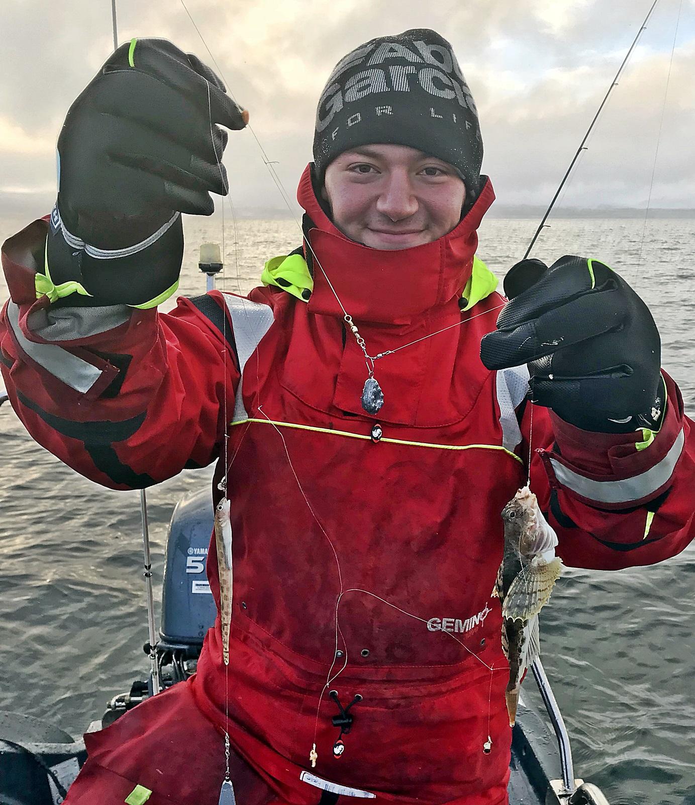 Bilal Saab en ung og fremadstormene artsfisker i fra Nord