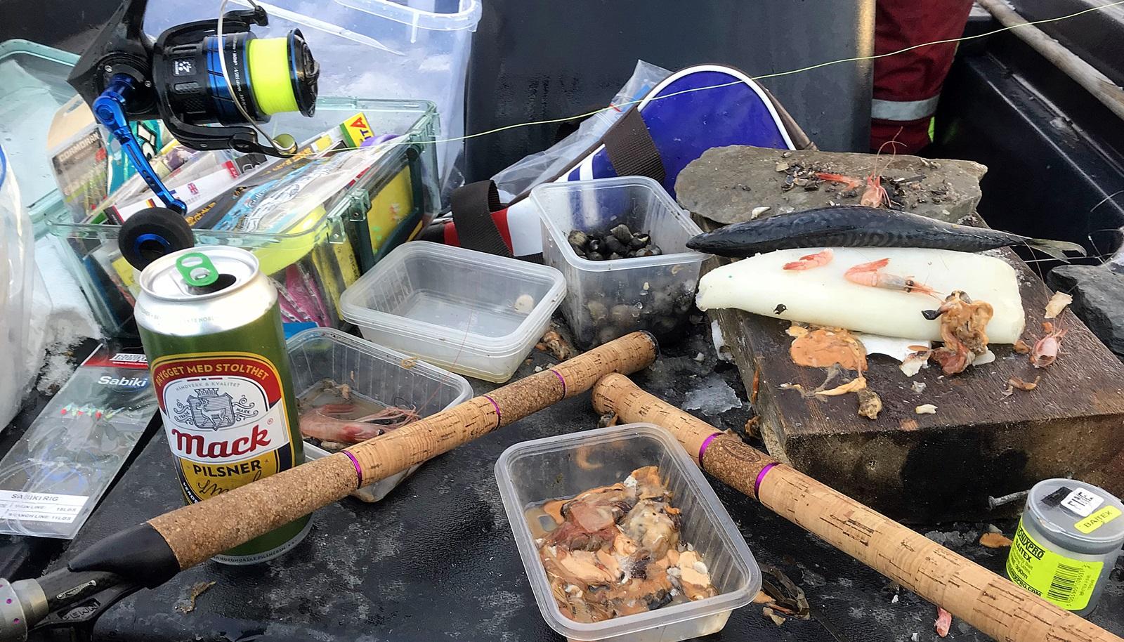 Mye forberedelser måtte til for en slik tur, og alt utstyr må fungere smertefritt under slike omgivelser