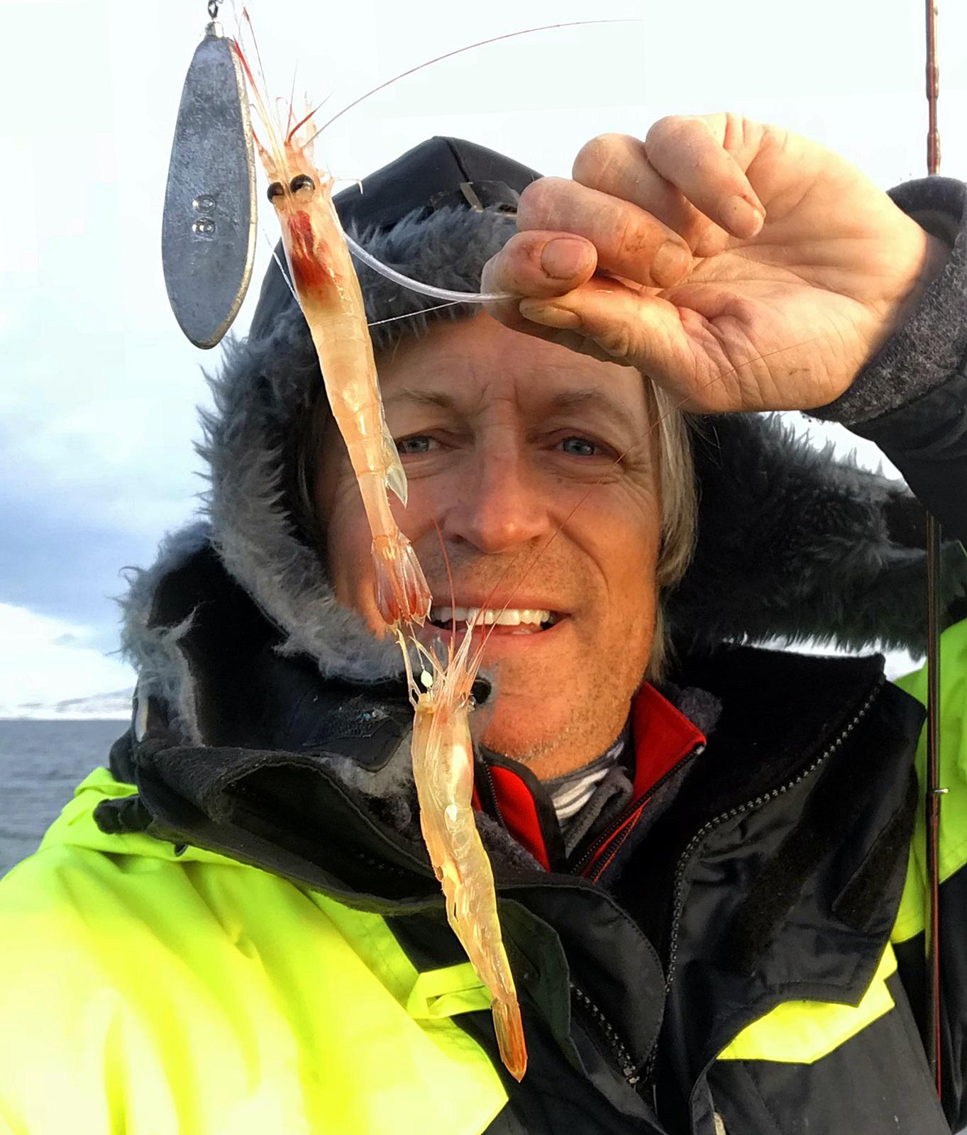 bifangst av polarreker, var vanlig, og kongekrabbe